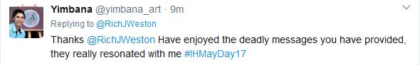 IHMayDay trending re richard