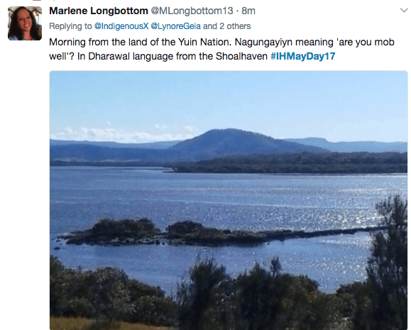 IHMayDay17 call out Marlene