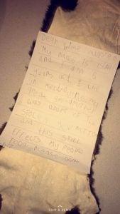 clinton isiah letter