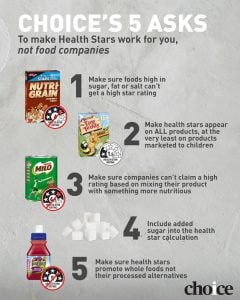 Health Star Asks