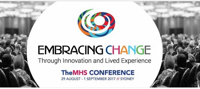 #TheMHS2017 conference to centre the voices of lived experience