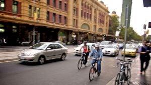 Cycling in Melbourne, Savio Sebastian Flickr