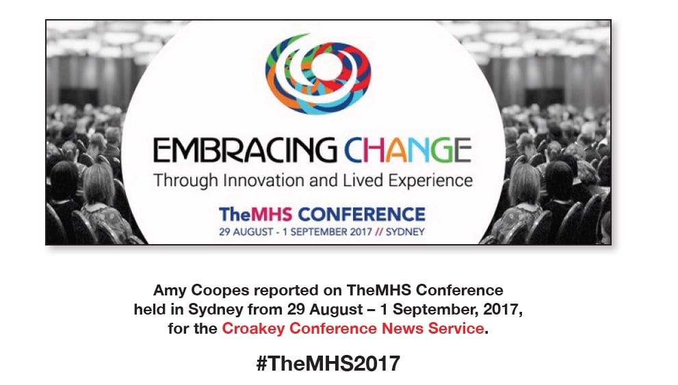 Profiling innovation and lived experience in mental health services - get your #TheMHS2017 conference report here