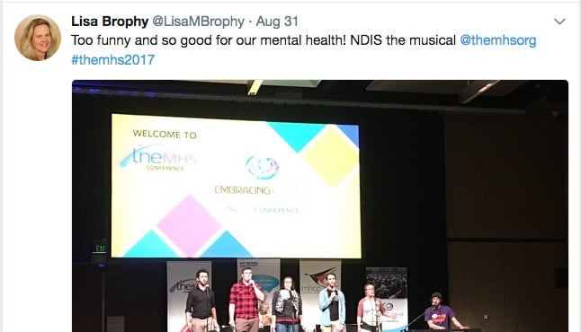 An indepth examination of progress (or not) with the NDIS - from #TheMHS2017 conference