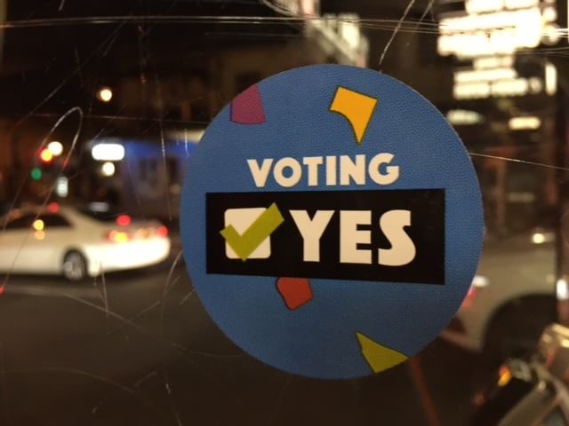 """Vote yes. It's good for kids"" - advice from a children's doctor"