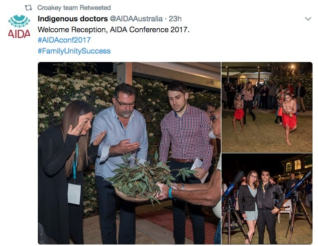 #AIDAConf2017 - trending nationally, with a focus on racism and health