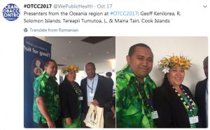 Pacific presenters