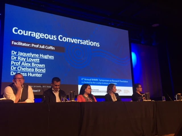Leading Indigenous health researchers share some courageous conversations