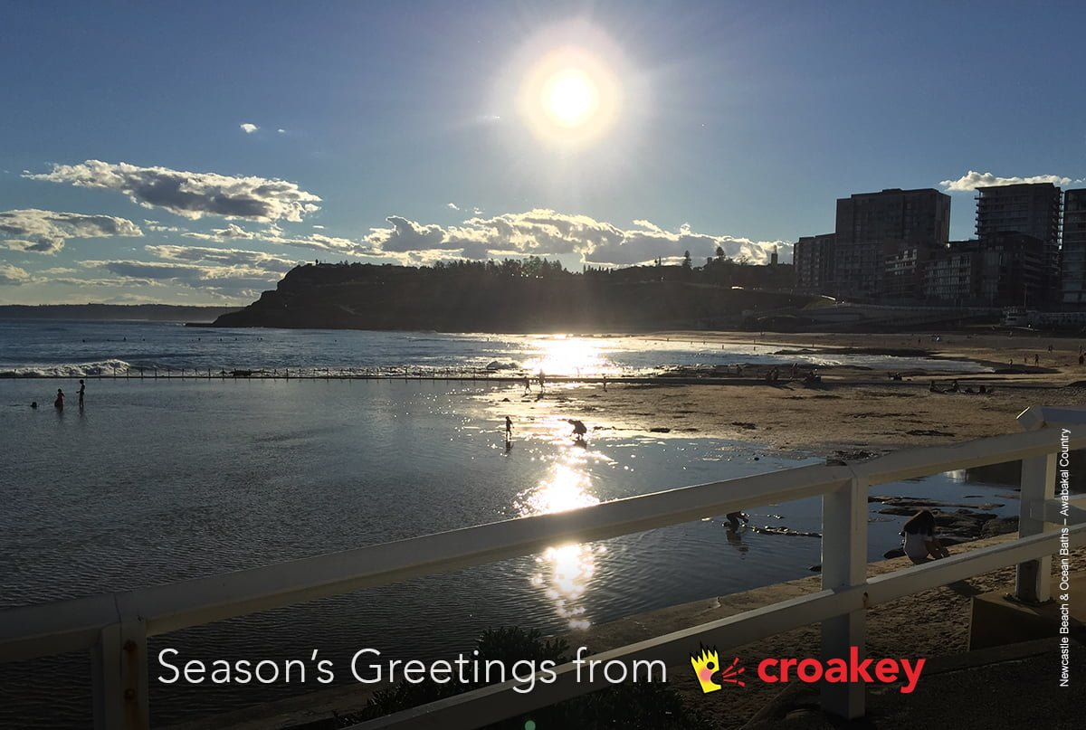 Seasons greetings - and we will see you in 2018!