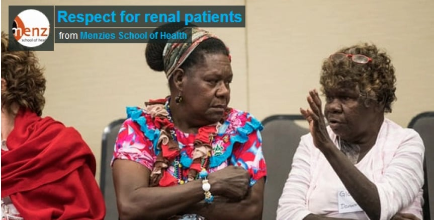 Listen to Indigenous patient experts on how to transform renal care