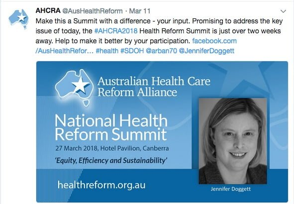 Ahead of 8th national health reform summit where is the focus on ahcra understands the blueprint was prepared by ahha with input from peak health groups and health leaders but without widespread community consultation malvernweather Image collections