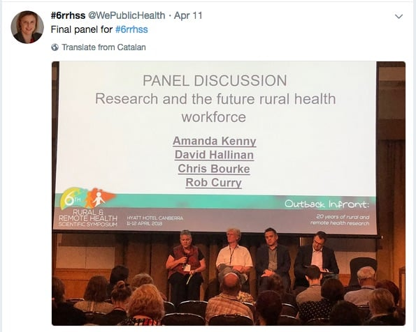 Rural and remote health workforce research – complex