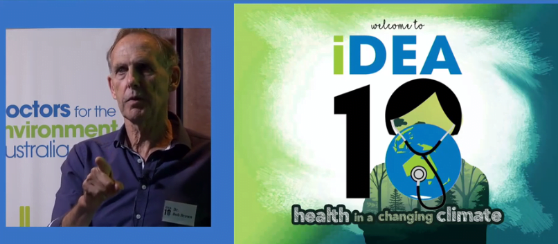 Here's a great #iDEA18: health professionals & systems lead the way on climate health action