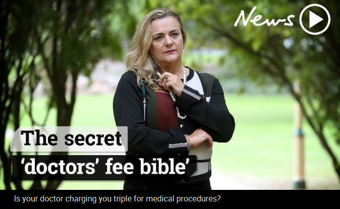 Lifting the lid on a media 'scandal' about doctors' fees