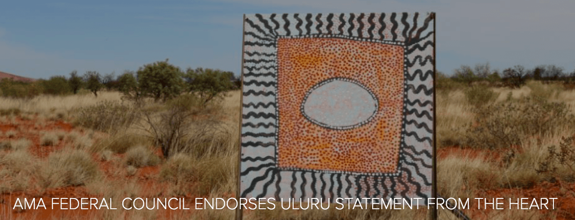 AMA urges broader health, medical support for Uluru Statement from the Heart