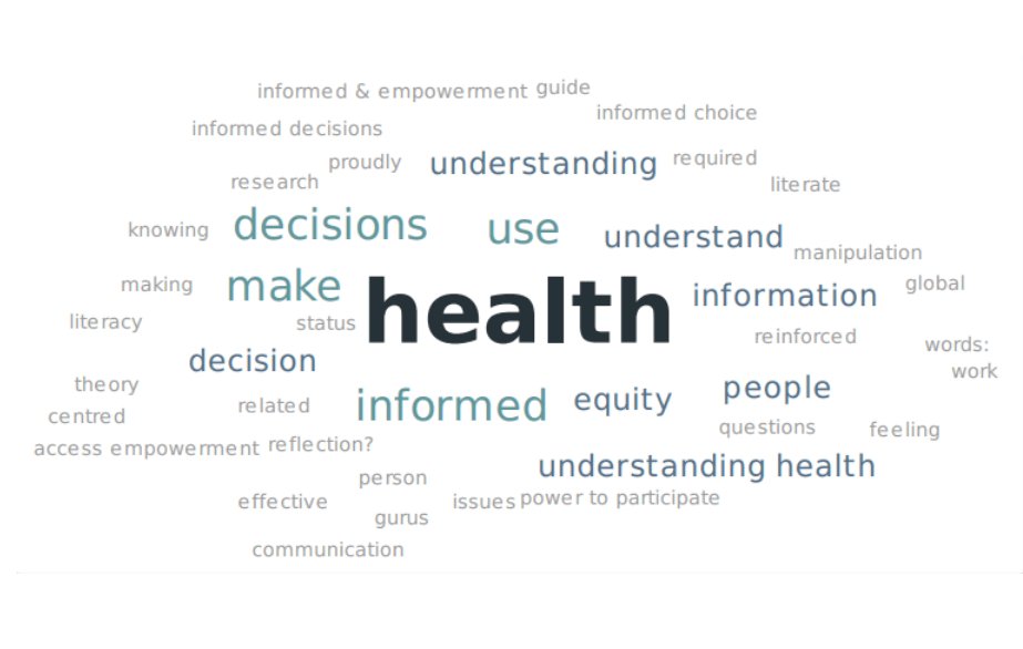Making health literacy everyone's business - #CPHCE forum profiles innovation and empowerment in communities