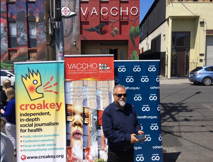 Ahead of #VicVotes, community health advocates take to the streets with some powerful messages