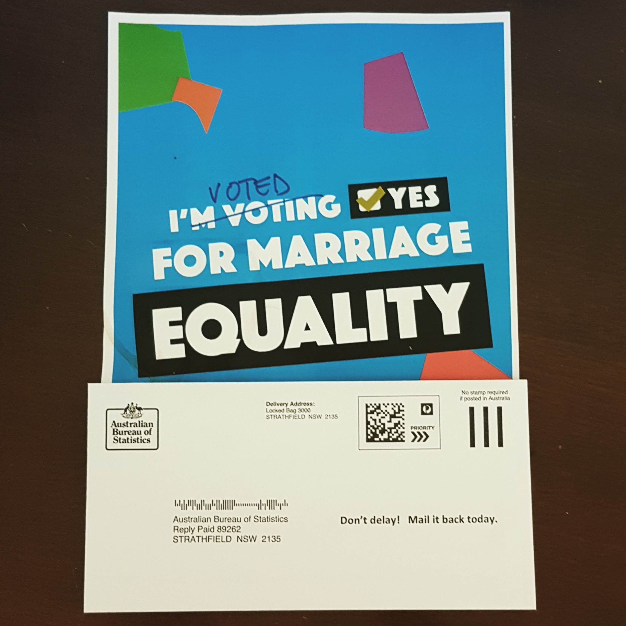 Battle fatigue as LGBTQI Australians remember #VoteYes