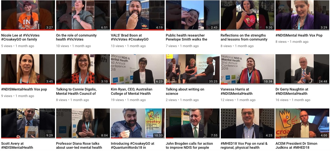 Your summer viewing - catch up with some great interviews and the public health news from 2018