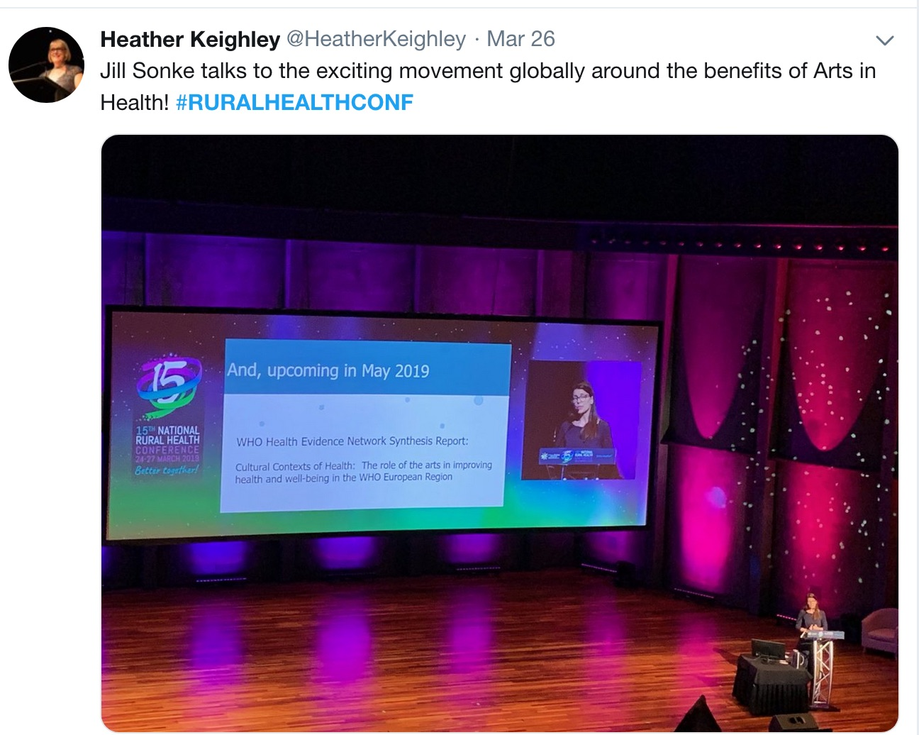 A great big Twitter wrap of the #ruralhealthconf news and views