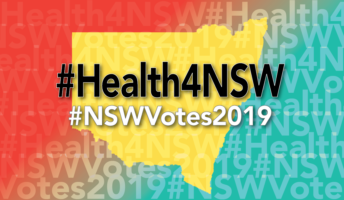 Tune in - for our live wrap of the #Health4NSW election issues