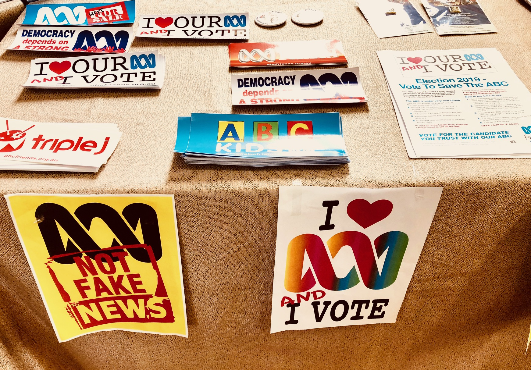An election health concern: the ailing state of the media
