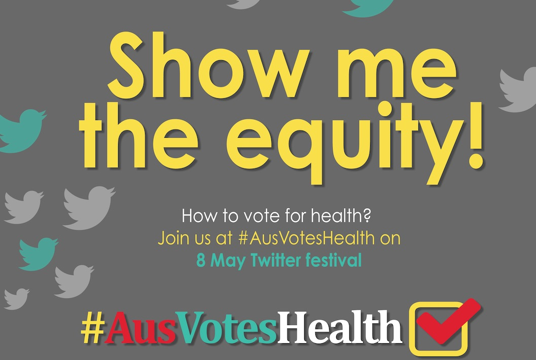 Introducing the #AusVotesHealth Twitter festival - live reports