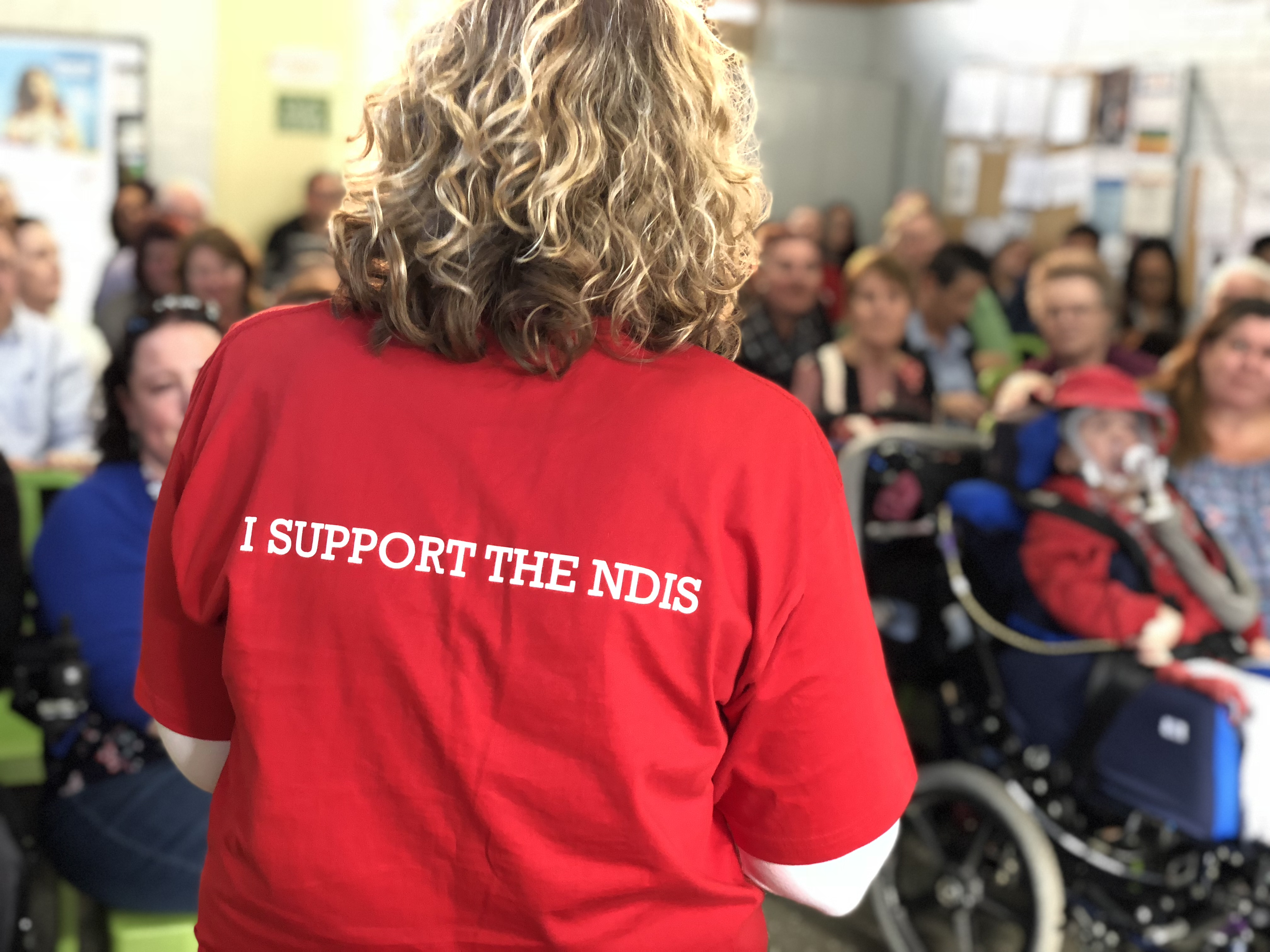 NDIS needs to be at top of #AusVotes agenda, fully spending, and headed by people with disability