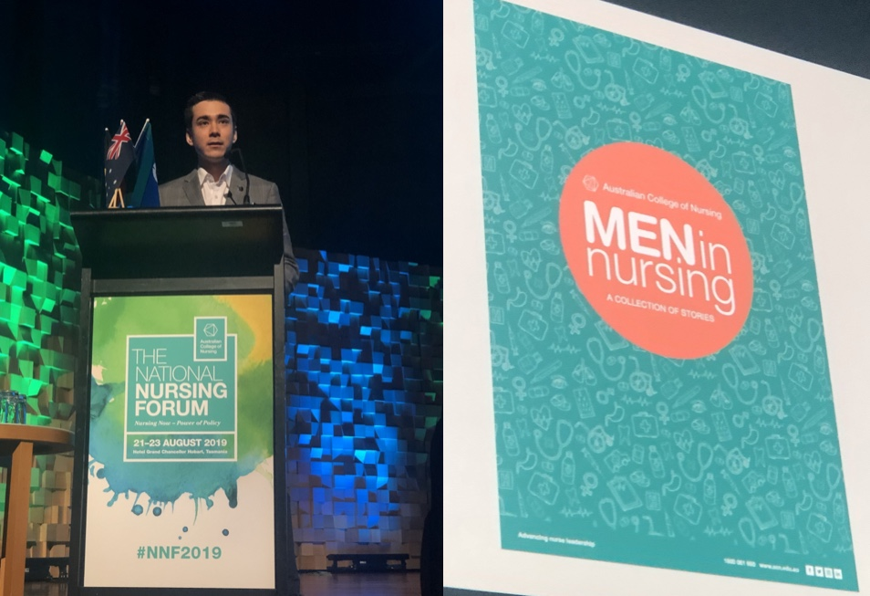 It's okay to care: challenging gender stereotypes at #NNF2019