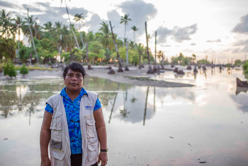 """Our village has disappeared"": Four critical challenges to the health sector from the Pacific"