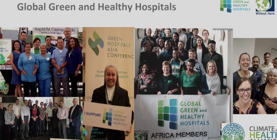 Greening Healthcare forum – cutting one percent of a hospital's energy use is a lot of carbon saved