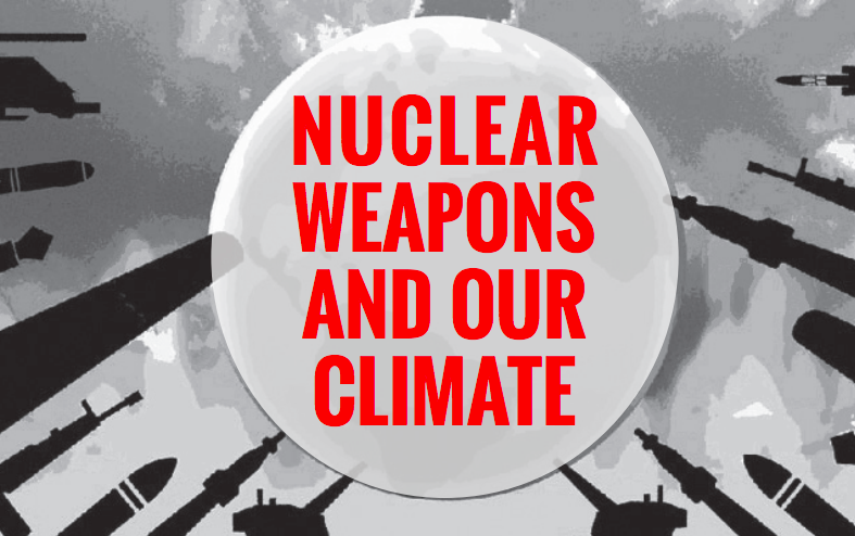 Nuclear weapons pose the greatest acute danger to Earth's climate