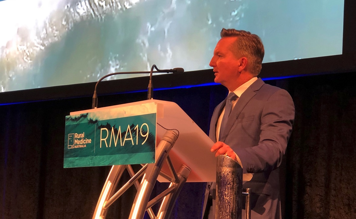 Newsflash! Politicians talk about social determinants of health and prevention at #RMA19