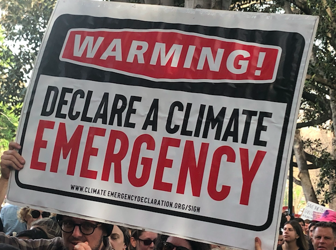 Practising what we preach on the climate crisis, at home and work