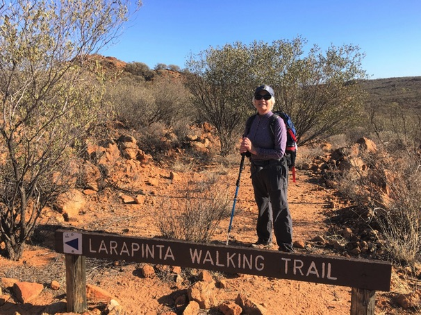 Hiking the Larapinta Trail in the red heart of Australia