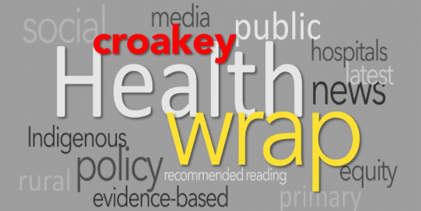 The Health Wrap: obesity, non-COVID19 patients, the