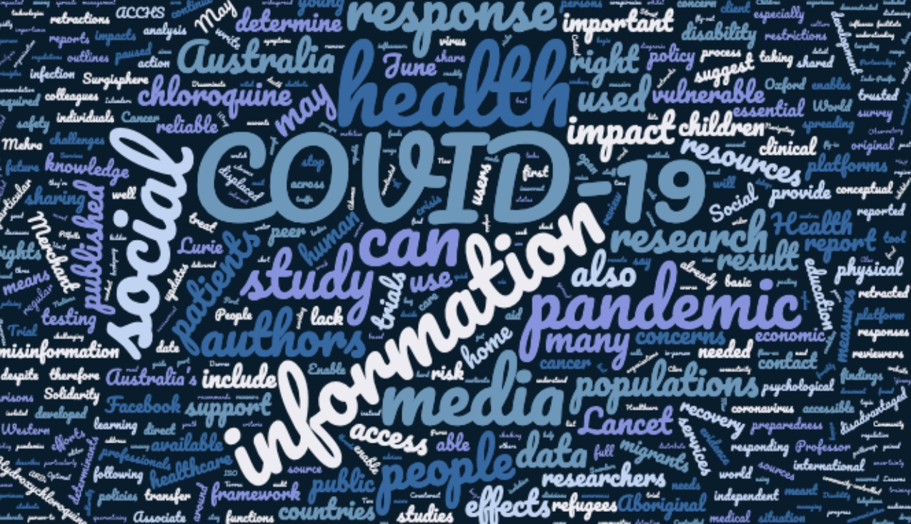 COVID-19 wrap: the right to health framework, research developments, social media for good, and a wealth of new resources